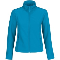 Textiel Dames Fleece B And C Softshell Atol/ Houding Grijs