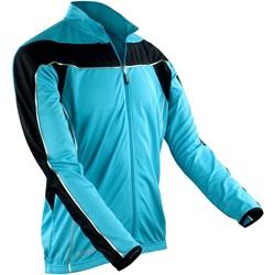 Textiel Heren Trainings jassen Spiro Performance Aqua/ Zwart