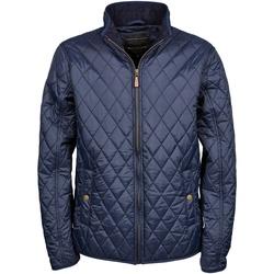 Textiel Heren Dons gevoerde jassen Tee Jays Diamond Pattern Deep Navy