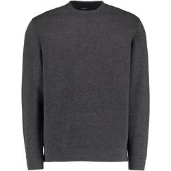 Textiel Heren Sweaters / Sweatshirts Kustom Kit Klassic Donkergrijs mergel