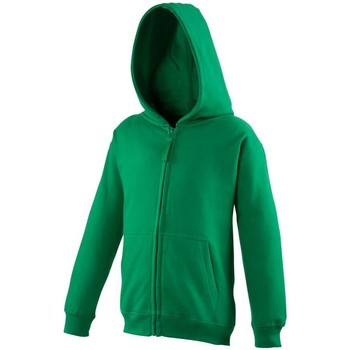 Textiel Kinderen Sweaters / Sweatshirts Awdis Hooded Kelly Groen
