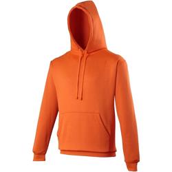 Textiel Sweaters / Sweatshirts Awdis Electric Elektrisch Oranje