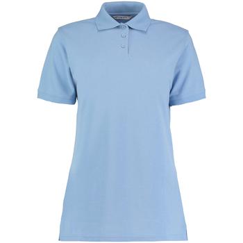 Textiel Dames Polo's korte mouwen Kustom Kit Klassic Lichtblauw
