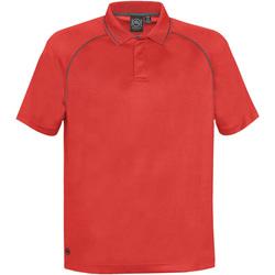 Textiel Heren Polo's korte mouwen Stormtech Performance Helder rood/koolstof