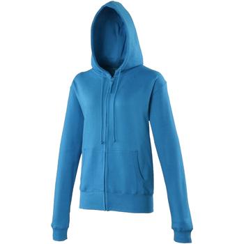 Textiel Dames Sweaters / Sweatshirts Awdis Girlie Saffierblauw
