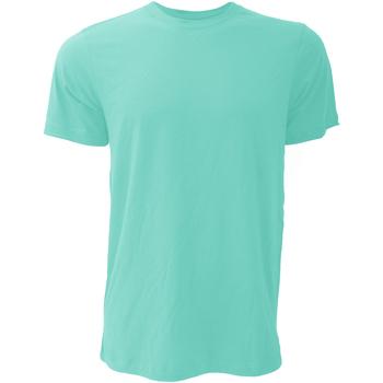 Textiel Heren T-shirts korte mouwen Bella + Canvas Jersey Teal
