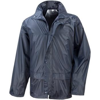 Textiel Heren Windjacken Result Stormdri Marineblauw