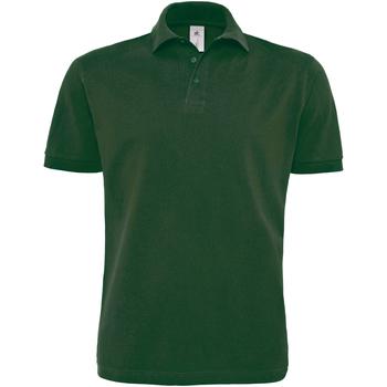 Textiel Heren Polo's korte mouwen B And C PU422 Fles groen