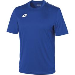 Textiel Kinderen T-shirts korte mouwen Lotto LT26B Koninklijk/Wit