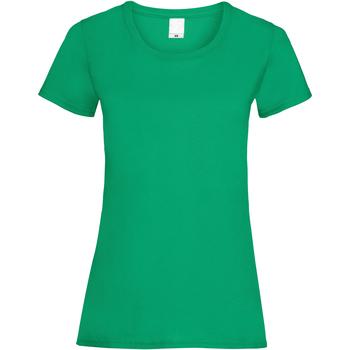 Textiel Dames T-shirts korte mouwen Universal Textiles 61372 Groen