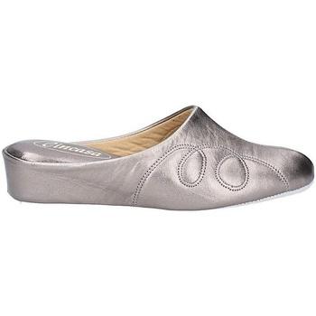 Schoenen Dames Sloffen Cincasa Menorca MAHON SLIPPER Tinnen
