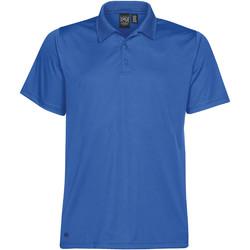 Textiel Heren Polo's korte mouwen Stormtech Pique Azuurblauw