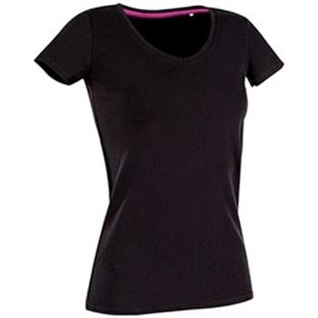Textiel Dames T-shirts korte mouwen Stedman Stars Claire Zwart Opaal