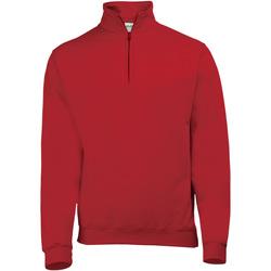 Textiel Heren Fleece Awdis Sophomore Vuurrood