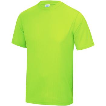 Textiel Kinderen T-shirts korte mouwen Awdis JC01J Elektrisch Groen
