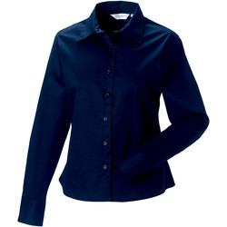 Textiel Dames Overhemden Russell Classics Franse marine