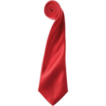 Textiel Heren Krawatte und Accessoires Premier PR750 Rood