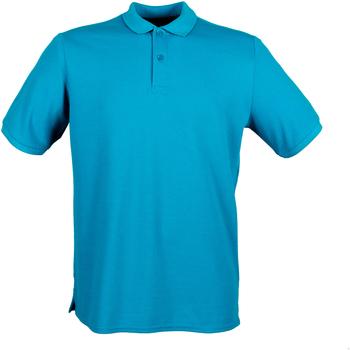 Textiel Heren Polo's korte mouwen Henbury HB101 Saffier