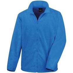 Textiel Heren Fleece Result Fashion Fit Elektrisch Blauw