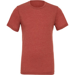 Textiel Heren T-shirts korte mouwen Bella + Canvas Triblend Klei Triblend