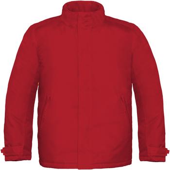 Textiel Heren Windjacken B And C Real+ Diep rood