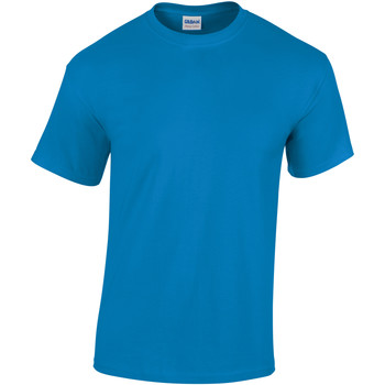 Textiel Heren T-shirts korte mouwen Gildan Heavy Saffier