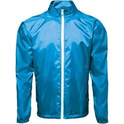Textiel Heren Windjacken 2786 TS011 Saffier/wit