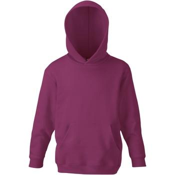 Textiel Kinderen Sweaters / Sweatshirts Fruit Of The Loom SS273 Bourgondië