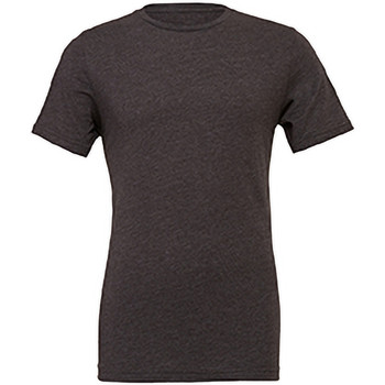 Textiel Heren T-shirts korte mouwen Bella + Canvas Jersey Donker Heather