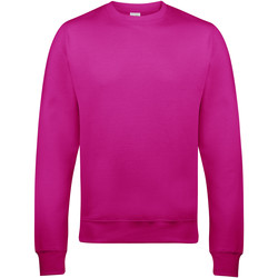 Textiel Heren Sweaters / Sweatshirts Awdis JH030 Heet Roze