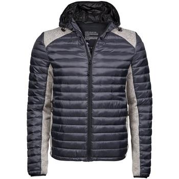 Textiel Heren Dons gevoerde jassen Tee Jays TJ9610 Kosmische Grijs/Grijze Melange