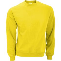 Textiel Heren Sweaters / Sweatshirts B And C WUI20 Zonne-Geel