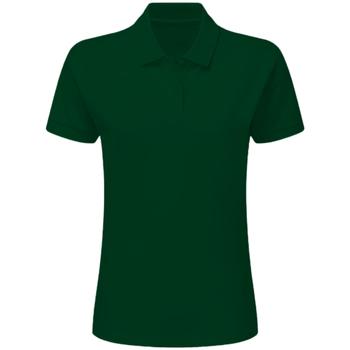 Textiel Dames Polo's korte mouwen Sg SG50F Fles groen