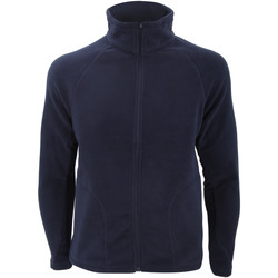 Textiel Heren Fleece Result Micron Marineblauw