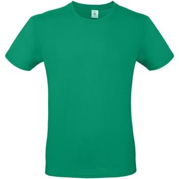 Textiel Heren T-shirts korte mouwen B And C E150 Kelly Groen