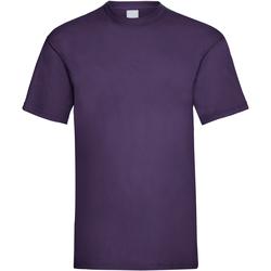 Textiel Heren T-shirts korte mouwen Universal Textiles 61036 Druif
