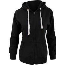 Textiel Dames Sweaters / Sweatshirts Mantis Hooded Zwart