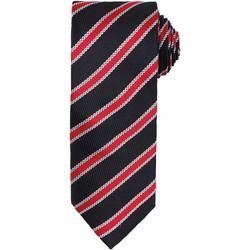 Textiel Heren Krawatte und Accessoires Premier  Zwart/Rood