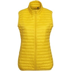 Textiel Dames Dons gevoerde jassen 2786 TS19F Helder geel