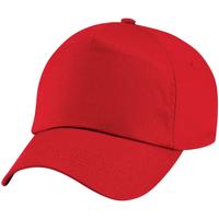 Accessoires Kinderen Pet Beechfield Baseball Klassiek rood