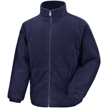 Textiel Heren Fleece Result Polartherm Marineblauw