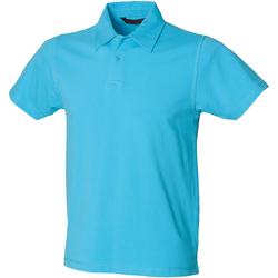 Textiel Heren Polo's korte mouwen Skinni Fit Stretch Surf Blauw