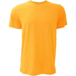 Textiel Heren T-shirts korte mouwen Bella + Canvas Jersey Geel