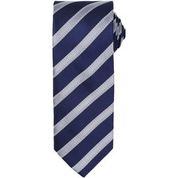 Textiel Heren Krawatte und Accessoires Premier  Marine / Zilver