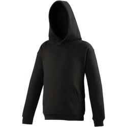 Textiel Kinderen Sweaters / Sweatshirts Awdis Hooded Jet Zwart
