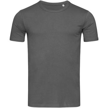Textiel Heren T-shirts korte mouwen Stedman Stars Morgan Donkergrijs
