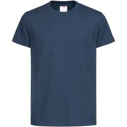 Textiel Kinderen T-shirts korte mouwen Stedman Organic Marine