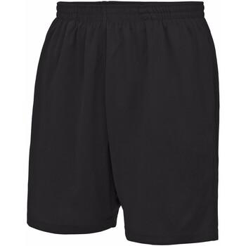 Textiel Kinderen Korte broeken / Bermuda's Awdis JC80J Jet Zwart