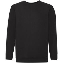 Textiel Kinderen Sweaters / Sweatshirts Fruit Of The Loom 62041 Zwart