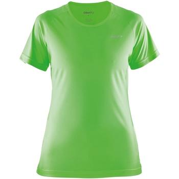 Textiel Dames T-shirts korte mouwen Craft Prime Gekko